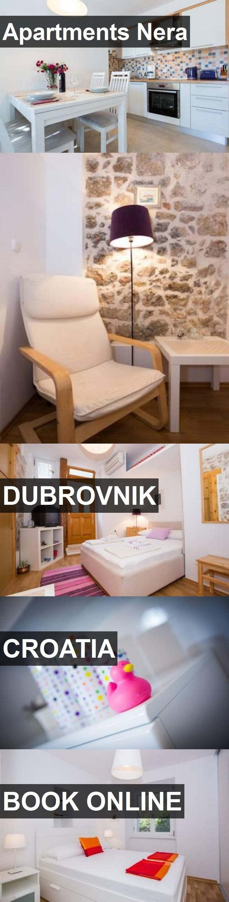 Hotel Apartments Nera in Dubrovnik, Croatia. For more information, photos, reviews and best prices please follow the link. #Croatia #Dubrovnik #ApartmentsNera #hotel #travel #vacation