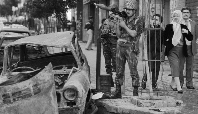 armée syrienne, Tripoli 1980s