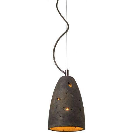 Lampa Febe to model wykonany z betonu oraz metalowych elementów uzupełniających. Lampa zdobędzie serce fanów surowego, fabrycznego stylu. http://blowupdesign.pl/pl/lampy-betonowe-gipsowe-industrialne-loft-design/1016-stylowa-lampa-betonowa-febe-podkresli-charakter-aranzowanego-pokoju-salonu-gabinetu.html #inudustrialdesign #hanginglamps #lighting #lamp #design #productdesign #inudustry #lightingstore #lampazbetonu #lampaloft