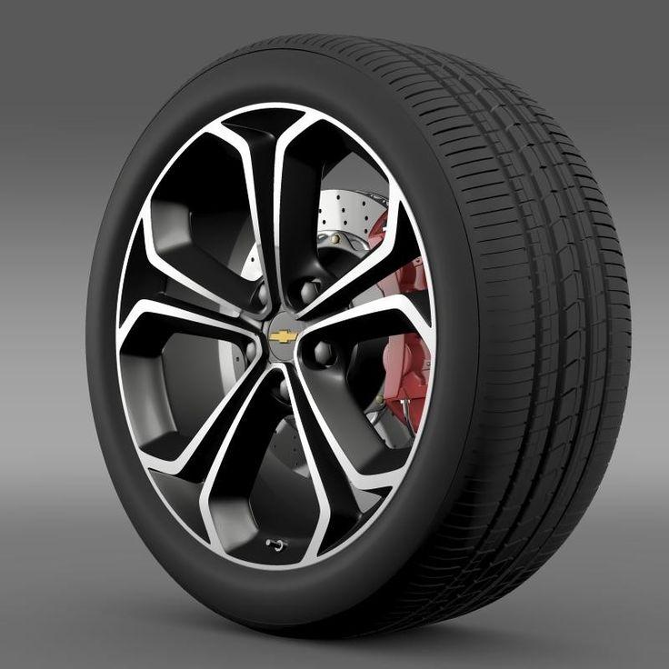 3Ds Max Chevrolet Volt Z - 3D Model
