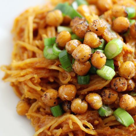 Spaghetti Squash Curry with Roasted Chickpeas   Making Nice in the MidwestMaking…   – F&B