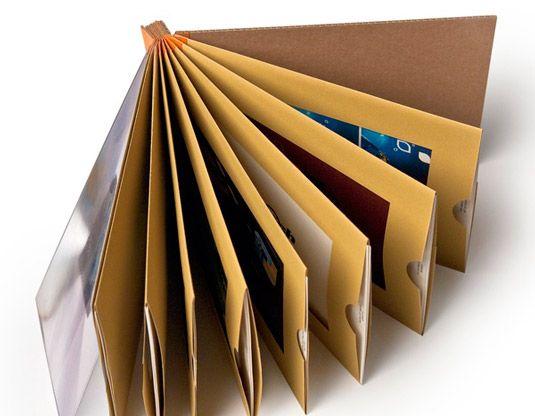 10 beautiful paper portfolios to inspire you - Design Portfolio Ideas