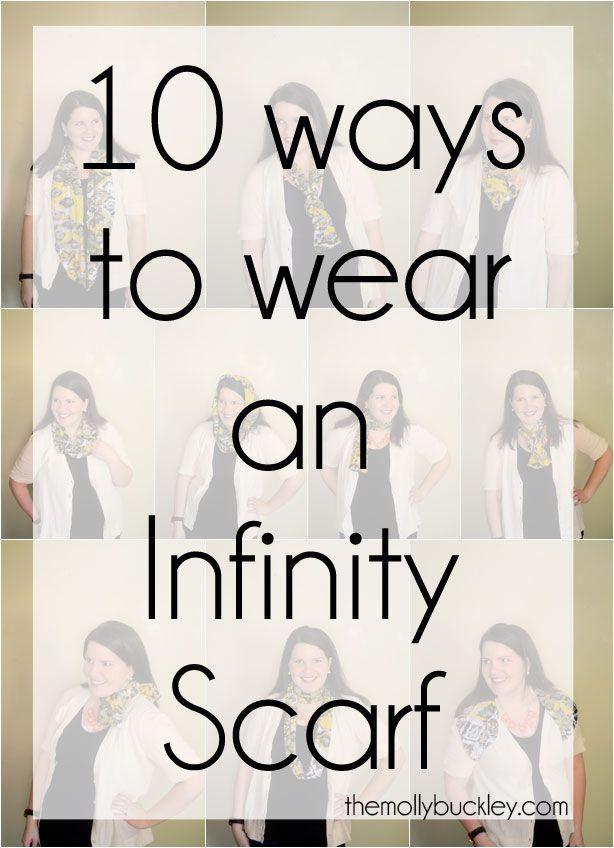 STYLE: 10 Ways to Wear an Infinity Scarf