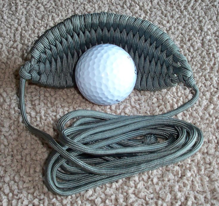 550 Paracord  Sling.  Its not a DIY but it's also not that expensive and if you are already handy with knots and paracord, you could make this by studying the patterns.