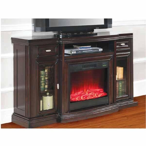 Shared from Flipp: Media Espresso Electric Fireplace with Glass Doors in  the Big Lots flyer - Ideas About Big Lots Electric Fireplace On Pinterest Big