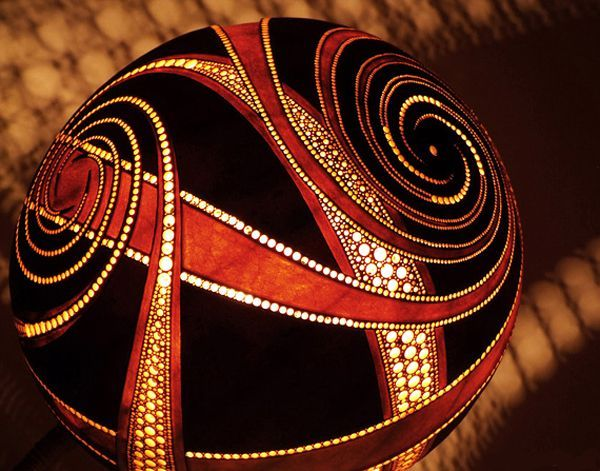 Good Gourd Lamps 11 Amazing Exotic Gourd Lamps From Calabarte
