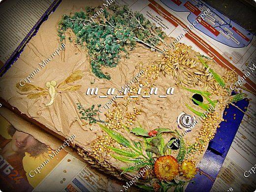 Декор предметов Мастер-класс Ассамбляж Почтовый ящик в технике Терра МК Гипс Краска Материал природный фото 16