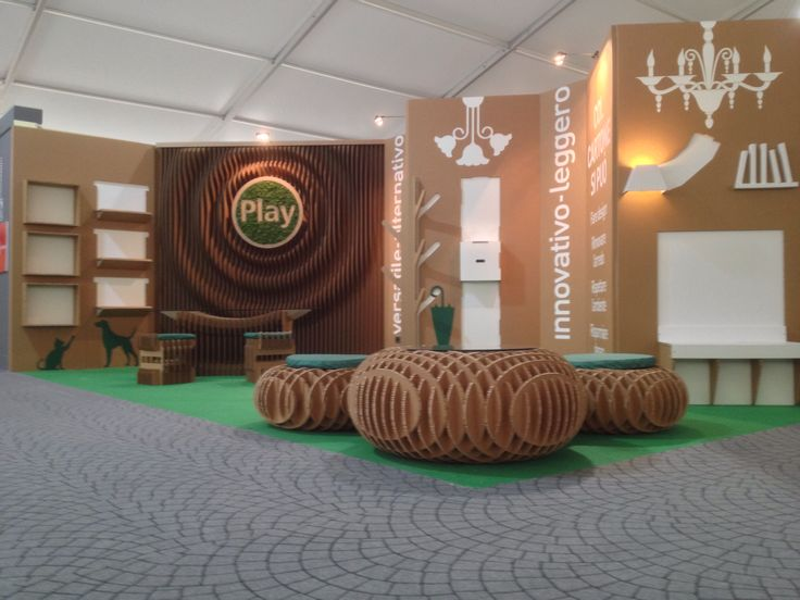 Stand Play  GFE 2014 #cartboard #design #