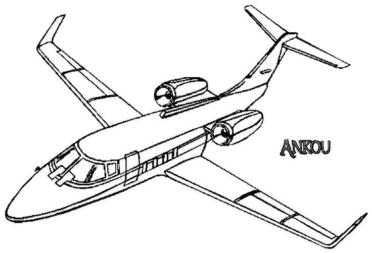 Render Avions - Renders dessin avion croquis