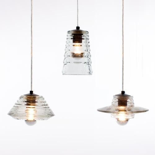 Pressed Glass Lens Pendant & Tom Dixon Glass Lens Pendants | YLiving