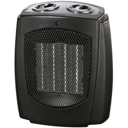 Pro Fusion Heat FH107A 750/1500 Watt Black Ceramic Portable Heater, Multicolor