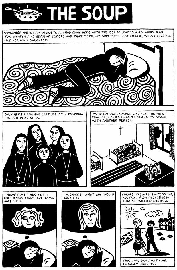 Chapter 1 The Soup From Persepolis 2 The Story Of A Return Book Inspiration Graphic Novel Alphabet Book
