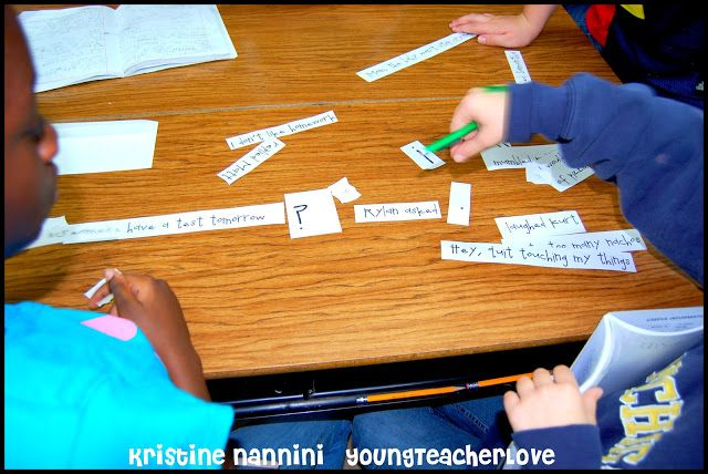 Writing Dialogue HUGE freebie! With resources for interactive notebooks and a hands on center activity!
