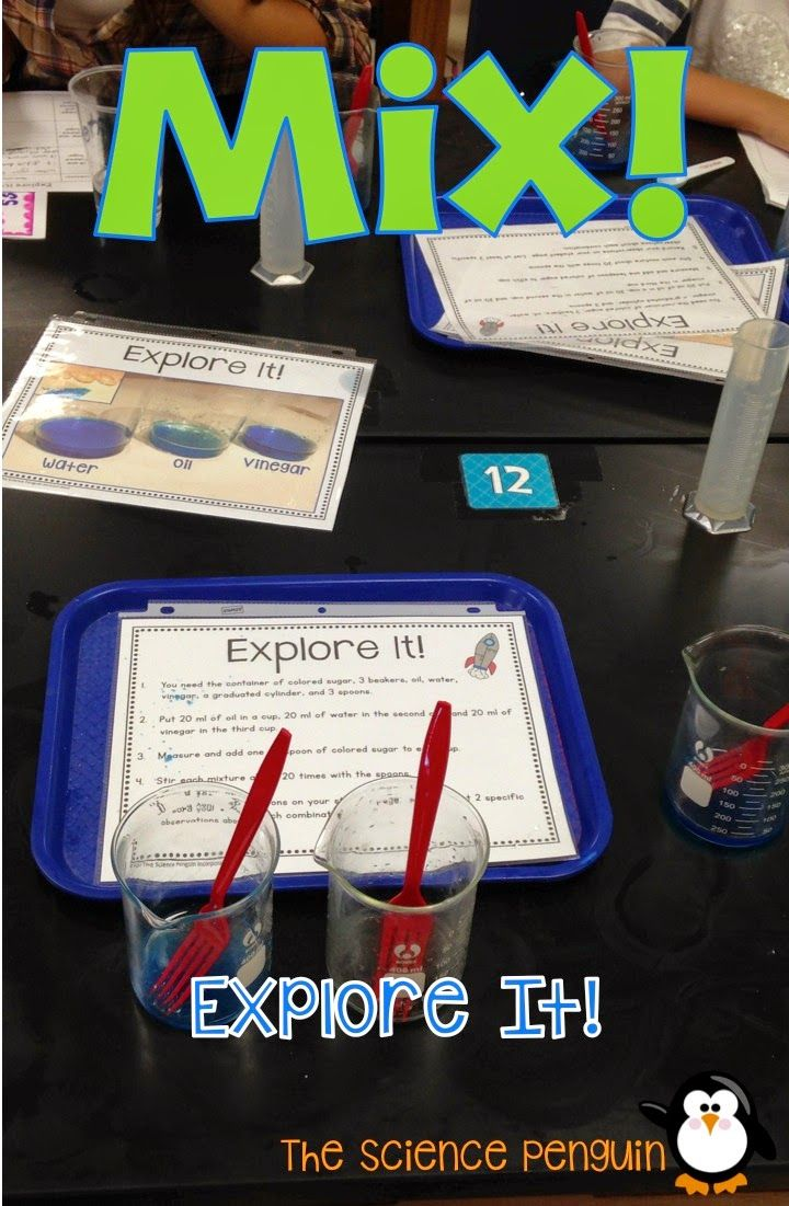 BIG Science Stations Units: Mixtures, Solutions, and Compounds $