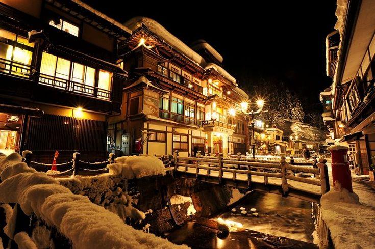 藤屋 銀山温泉 http://www.fujiya-ginzan.com/