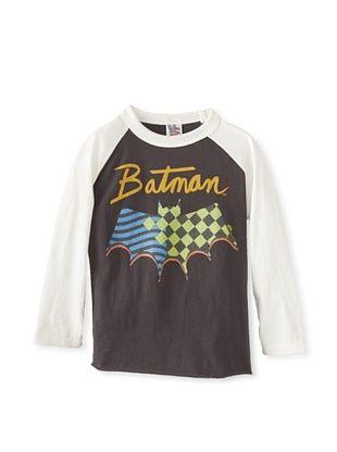 44% OFF Junk Food Kid's Batman Raglan Tee (Bw/Su)