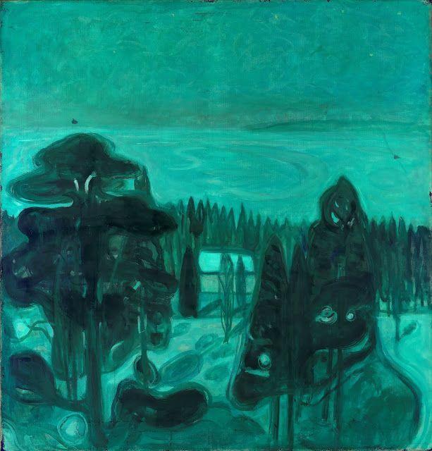 Edvard Munch (1863-1944), Hvit natt - 1900/01