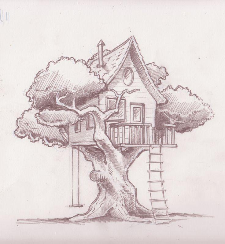 treehouse final sketch