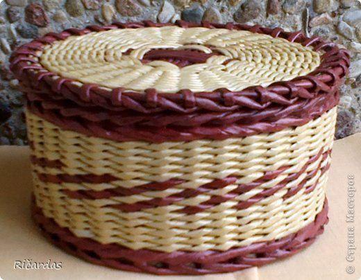 Поделка изделие Плетение Заказы заказы заказы  Бумага газетная Трубочки бумажные фото 53