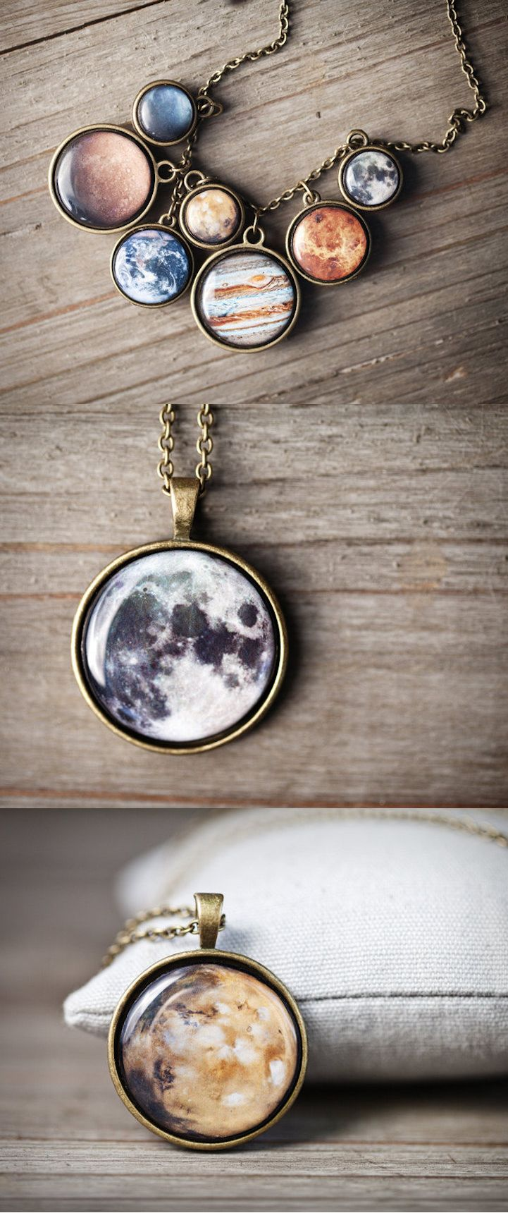 It's now possible to wear the cosmos around your neck. #etsy #jewelry