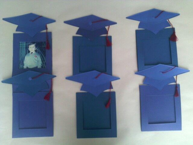 Marcos para fotos de graduación.
