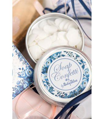 soaps confetti blue flowers, πρωτότυπη ιδέα μπομπονιέρας για να έχετε πάντα μαζί σας τα ατομικά σας σαπουνάκια, πρωτότυπη μπομπονιέρα, γάμος και βάφτιση μαζί, θέμα μπλε λουλούδια, θέμα για γάμο και βάφτιση μαζί, πρωτότυπο θέμα για γάμο και βάφτιση αγοριού, προσκλητήριο για γάμο και βάφτιση μαζί μπλε λουλούδια , μπομπονιέρα μαξιλαράκι μπλε λουλούδια με κρίκο ευχών, πρωτότυπος γάμος και βάφτιση μαζί, ιδέες για γάμο και βάφτιση αγοριού μαζί