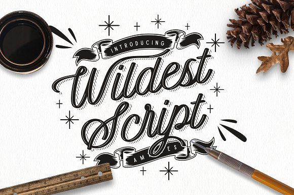 Wildest Script by Angga Mahardika on @creativemarket