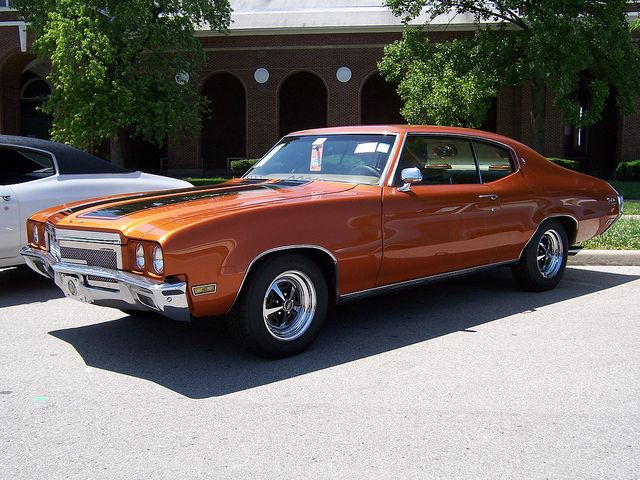 1970 Buick Skylark ~ got to drive one of these looked almost exactly like this one, when my parents. 70' LeSaber went back to dealership for some work, very cool car