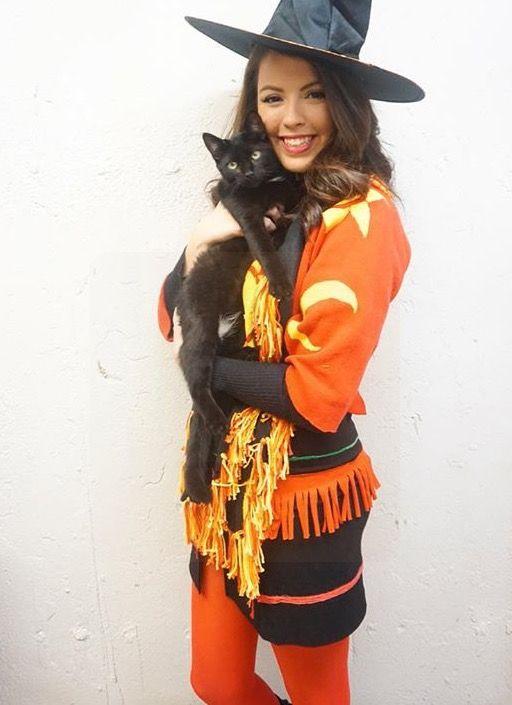 Dani dennison and binx hocus pocus costume #hocuspocus #dani #binx #blackcat…