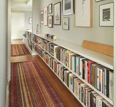 6 ideas para aprovechar un pasillo largo