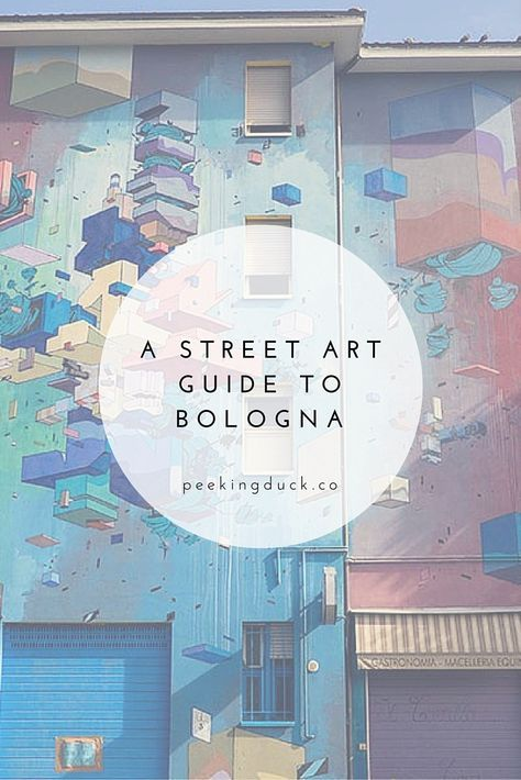 Bologna, Italy is home to some of the most famous street artists in the world. This guide will help you find the best pieces around the city.