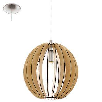 COSSANO 300 PENDANT MAPLE - Modern Pendants - Pendant Lights - Lighting Direct