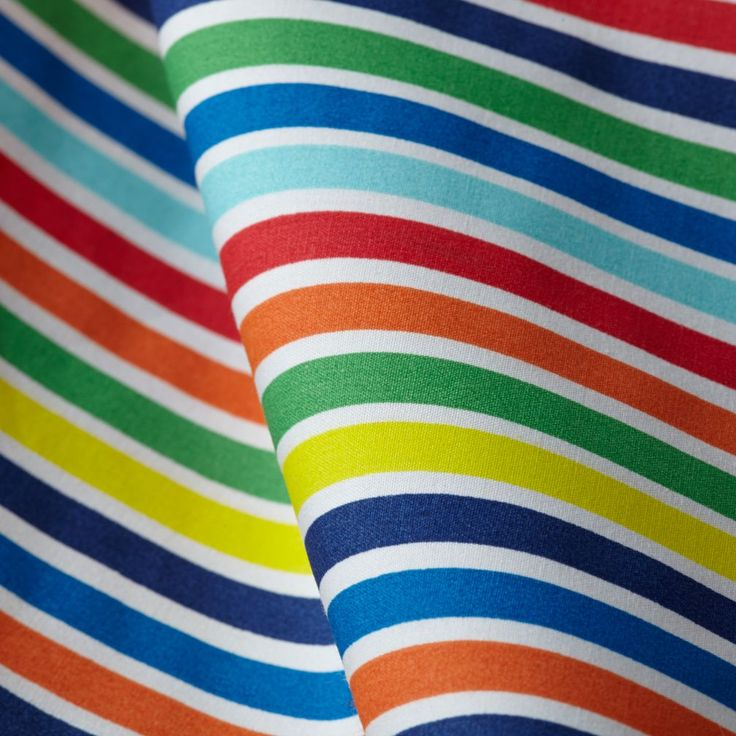 Candy Stripe Toddler Sheet Set (Multi) | The Land of Nod
