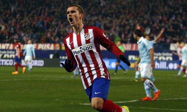 Antoine Griezmann going nowhere as striker insists he's happy at Atletico Madrid despite Chelsea interest...