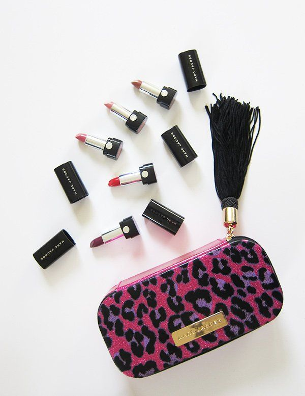 Marc Jacobs The Cat's Meow Mini Lipstick Kit (Sephora Holiday Faves 2017): Giveaway on Hey Pretty Beauty Blog