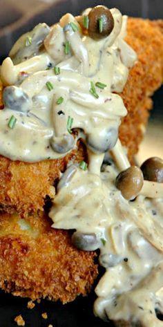 Creamy, Dreamy Mushroom Sauce