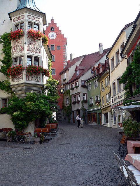 Meersburg, Lake Constance (Bodensee), Germany