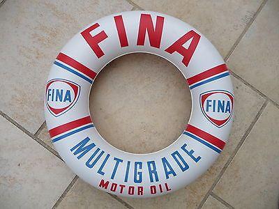 Bouée Fina  #1960s #vintage #bouée #Fina #cadeaux publicitaires
