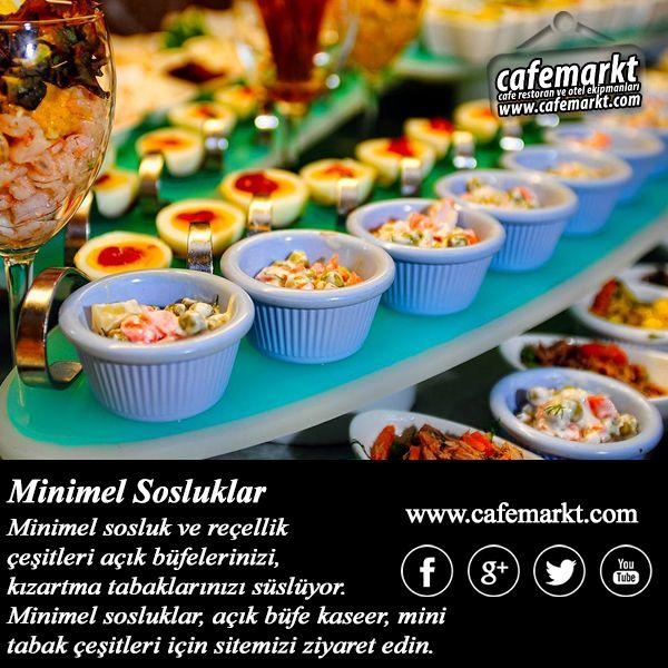 Minimel sosluk, reçellik çeşitleri ile açık büfeler, kızartma tabakları ihtiyaçları olan son dokunuşa sahip oluyor. Mini sos tabakarı için sitemizi ziyaret edin. http://www.cafemarkt.com/mini-kase-ve-mini-tabaklar #Cafemarkt #Zicco #MinimelSosluk #Sosluk #Reçellik #MinimelReçellik #Minisosluk #Minireçellik #AçıkBüfe #AçıkBüfeEkipmanları