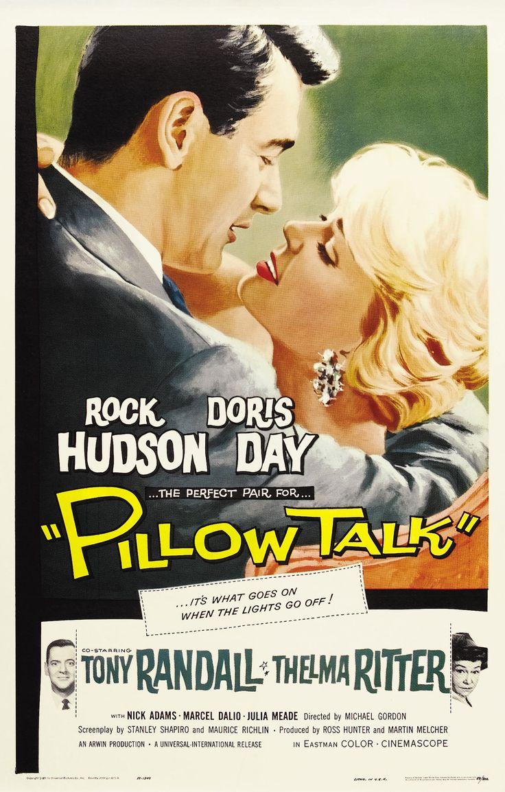 Pillow Talk (1959) starring Rock Hudson, Doris Day, Tony Randall & Thelma Ritter