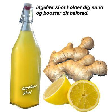 Dagens-puls Tema: Ingefær shot holder deg frisk...