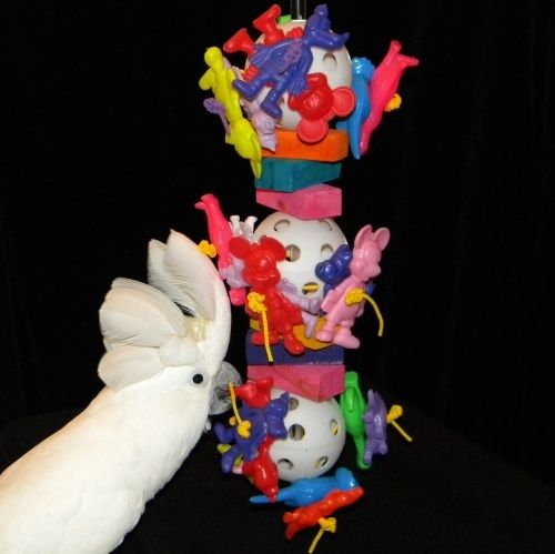 Great Balls of Fun Bird Cockatoo/Macaw Parrot Toy