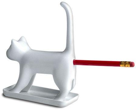 Hem & Trädgård - Kattpennvässare, Katten vässar pennan!