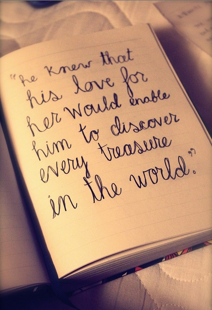 #lovequotes love for her
