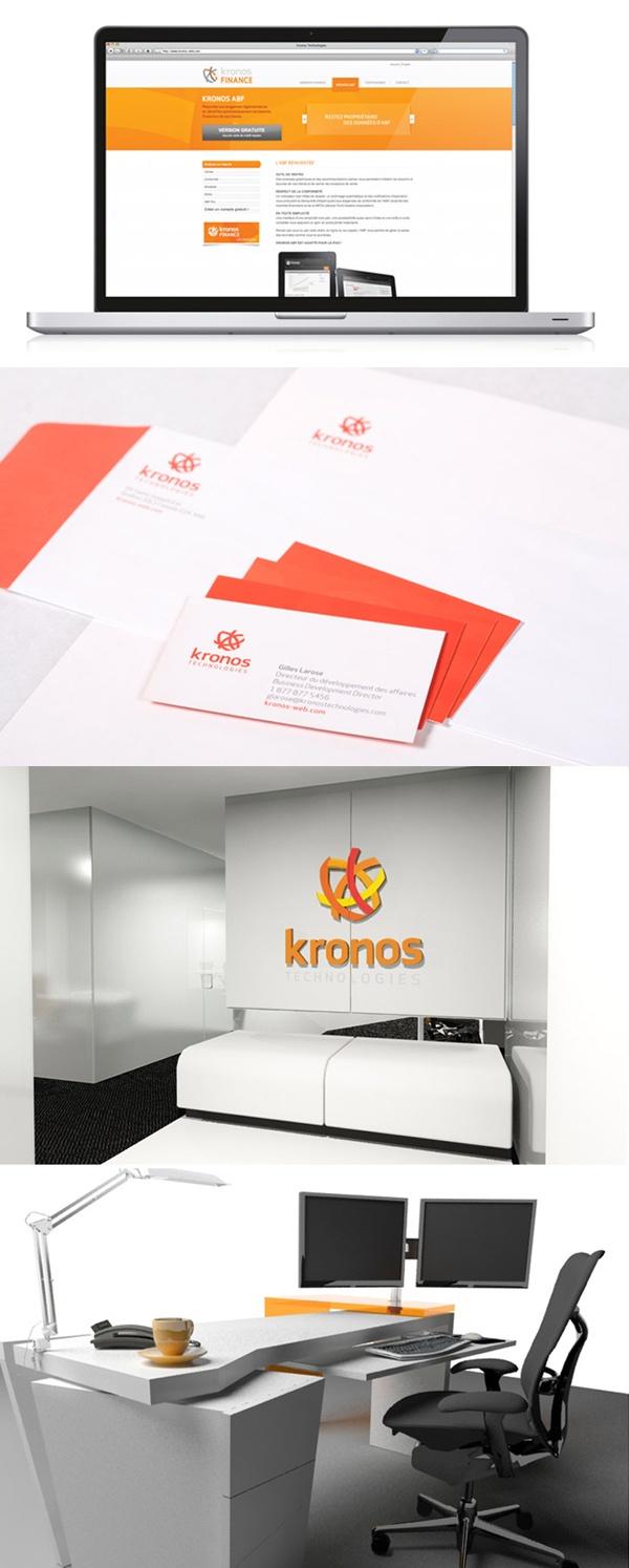 Client : Kronos Technologies - Design graphique, image de marque, outils corporatifs, photographie, design industriel, site Web, design d'espace.