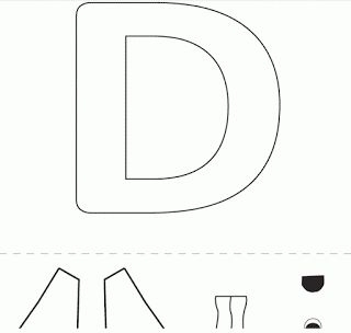 23 best education letter d images on pinterest art for kids day care and alphabet crafts. Black Bedroom Furniture Sets. Home Design Ideas