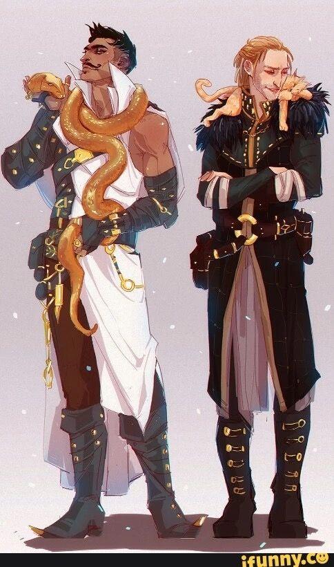Dorian & Anders