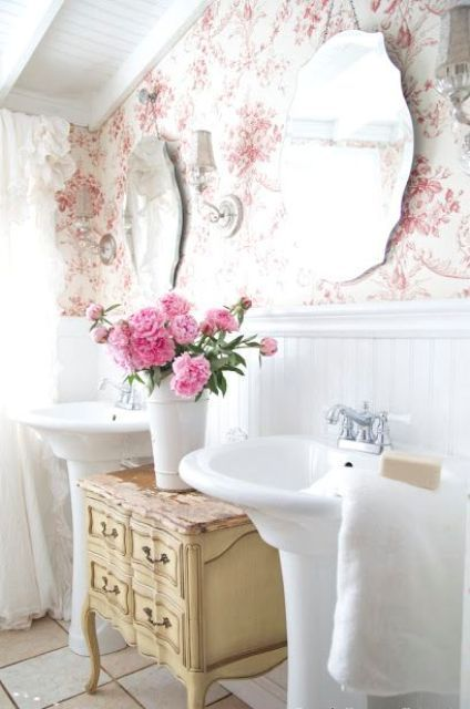 Chic Bathroom Decor best 10+ shabby chic bathroom with feminine details ideas on