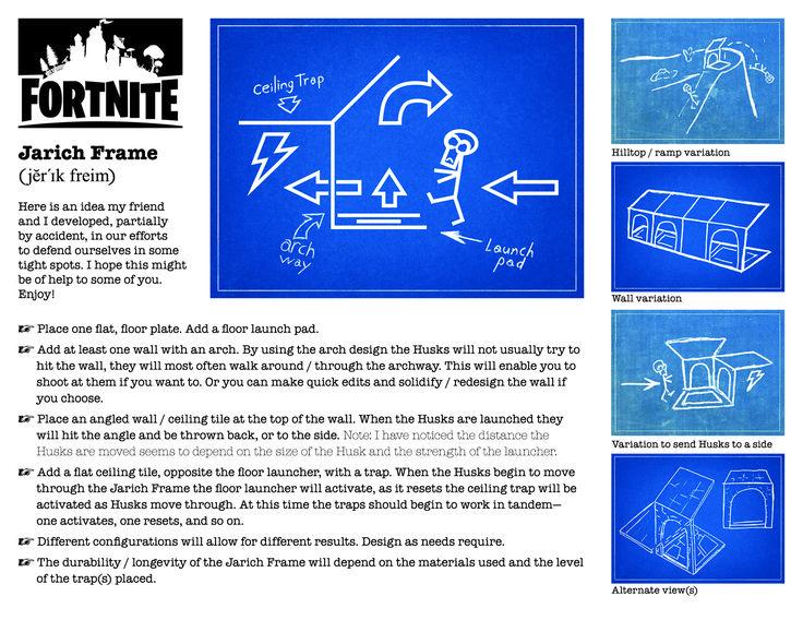 Fortnite trap idea. #husks, #fortnite, #trap, #launcher, #zombies, #PS4, #game, #online, #Xbox, #Fortnite