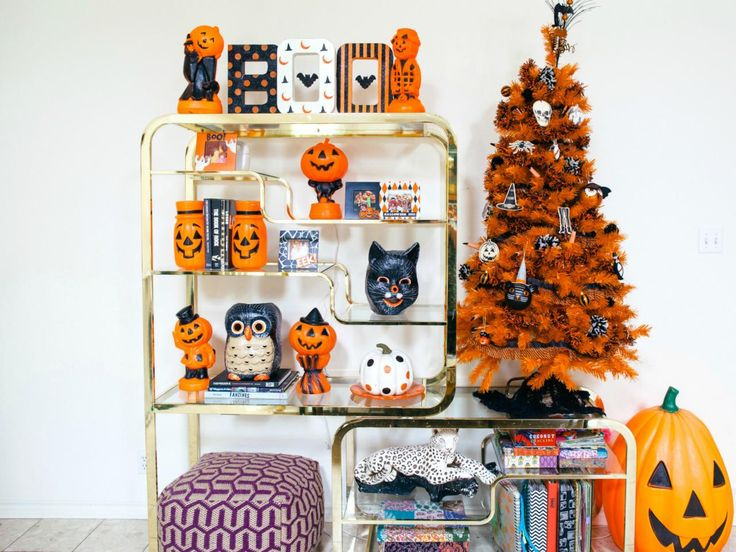 how to decorate a halloween tree - When To Decorate For Halloween